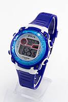 Детские наручные часы Polit (Полит), синий корпус и серебристый циферблат