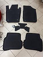 Коврики в салон 4D резиновые Skoda Fabia 2007-2013 ,  Качество!