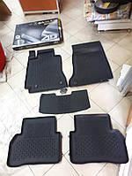 Килимки в салон 4D гумові Mercedes C-Class (W205) 2013+ , Якість!, фото 1