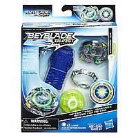HASBRO Набор Бейблэйд Вайрон В2 светящийся, Beyblade Burst Evolution Starter Pack Wyvron W2, оригинал из США