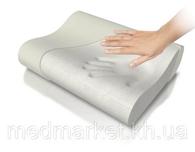 Ортопедическая подушка из эколатекса