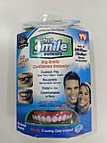 Съемные виниры для верхних зубов Perfect Smile Veneers, накладные зубы Перфект Смайл Венирс, фото 4