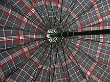 Большой зонт трость Jing Pin полуавтомат 16 спиц зонты мужские, фото 3