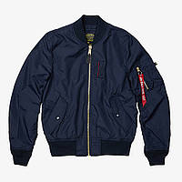 Ветровка Alpha Industries MA-1 Skymaster MJM45510C1 (Replica Blue)
