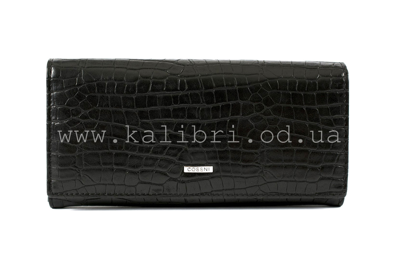 c12788b0055d Кошелек женский кожаный Cossni 9-131 черный, цена 508 грн., купить в ...