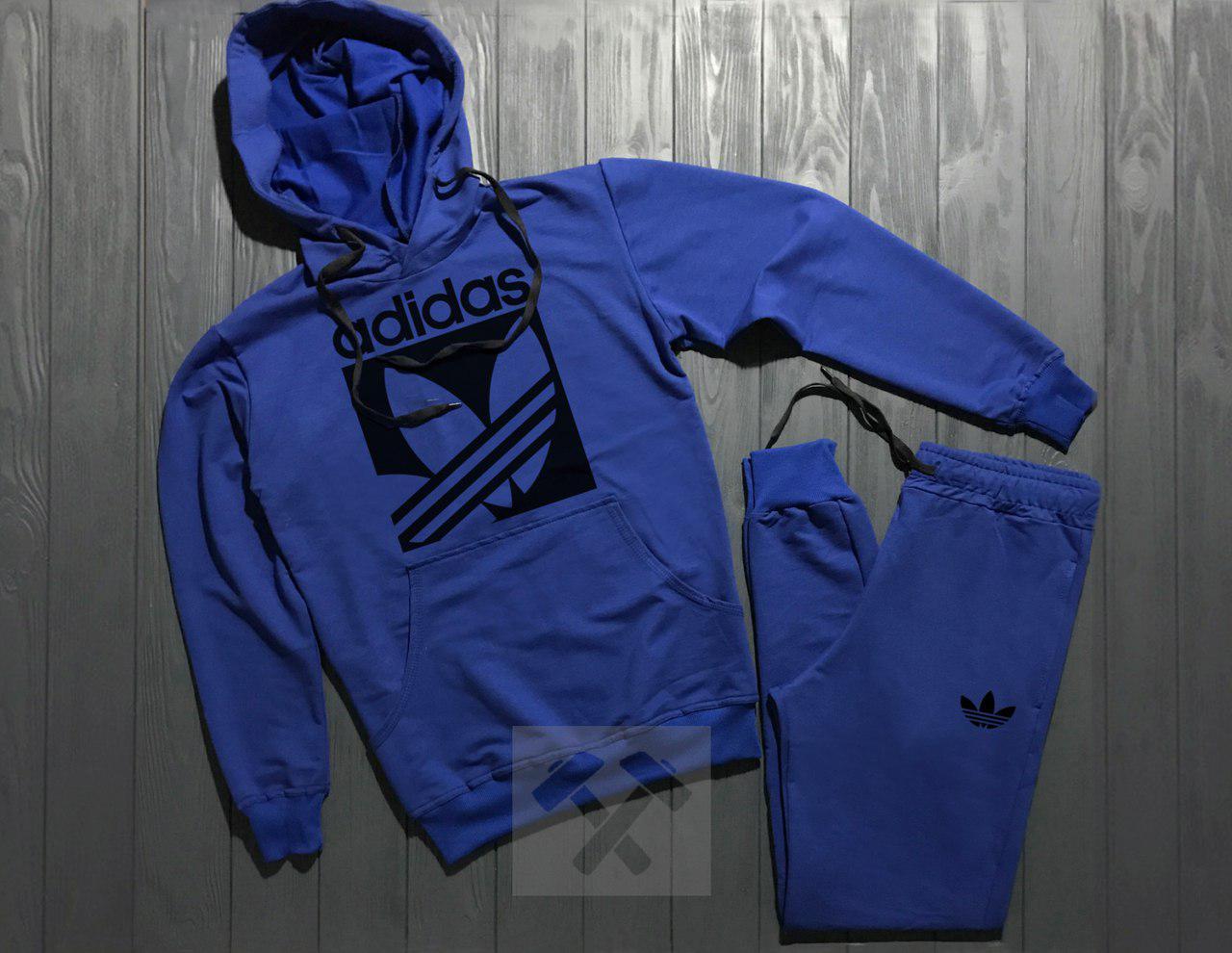 Спортивный Костюм Adidas Синий Топ Реплика — в Категории