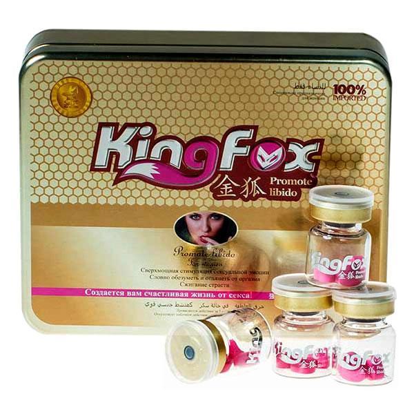 King Fox Королевская Лиса - афродизиак женский  3 шт.
