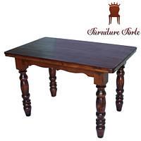 Купить стол кухонный деревянный, Стол 120 x 75 (4 ноги)