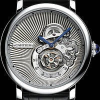 Мужские швейцарские часы Cartier Rotonde de Cartier Reversed Tourbillon