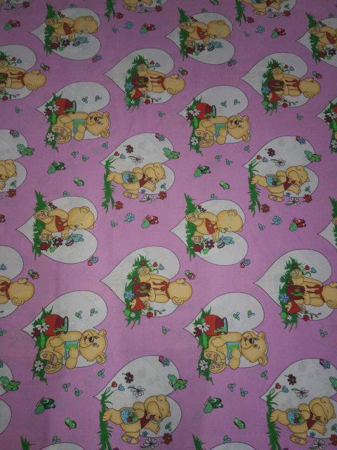 Детское постельное белье в кроватку бязь голд (1032)