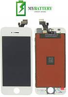 Дисплей (LCD) Apple iPhone 5 с сенсором белый