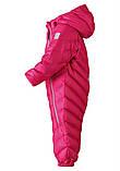 Зимний пуховый комбинезон для девочки Reima 510299-4590. Размеры 74-92., фото 3