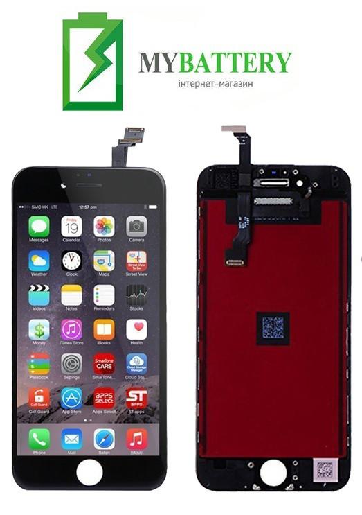 Дисплей (LCD) Apple iPhone 6 Plus з сенсором чорний