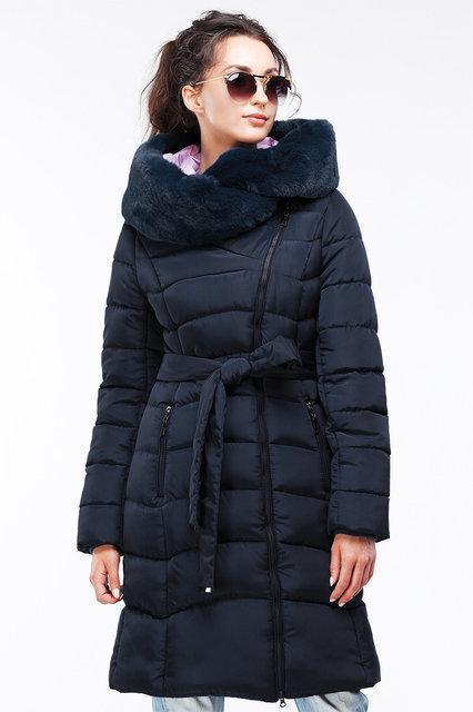 6ba3750f9f8 Модное зимнее пальто пуховик с мехом мутона - Модный магазин в Киевской  области