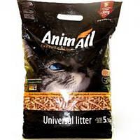 AnimAll (Энимал) наполнитель древесный для котов - 5.3 кг