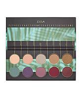 Zoeva Offline Eyeshadow Palette оригинал тени палетка