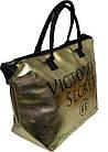 Сумка женская спортивная Victoria's Secret (34x35x22) золотистая, фото 2