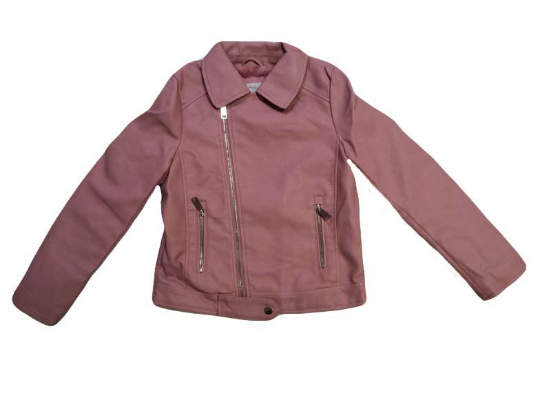 Куртки кожзам на меху для девочек оптом, размеры 110-160 Glo-story, арт. GPY-6792