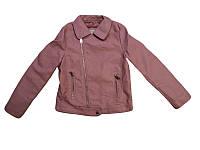 Куртки кожзам на меху для девочек оптом, размеры 110-160 Glo-story, арт. GPY-6792, фото 1