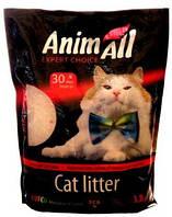 """AnimАll (Энимал) наполнитель силикагель """"Розовый лепесток"""" для котов - 3.8л"""
