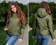Демисезонная куртка Dina,  синтепон 150