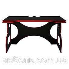 Компьютерный стол Barsky HG-05 Homework Game Red 1400*700, геймерский стол, красный, фото 3