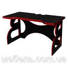 Компьютерный стол Barsky HG-05 Homework Game Red 1400*700, геймерский стол, красный, фото 2