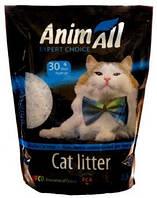 """AnimАll (Энимал) наполнитель силикагель """"Кристаллы аквамарина"""" для котов -  3.8л"""