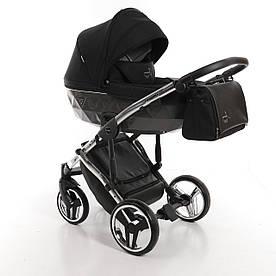 Детская универсальная коляска 2 в 1 Junama Diamond S-line Silver