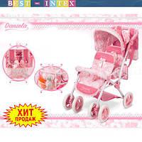 Коляска для куклы 90321 Двухместная Jemelos Twins (70-40-72 см)