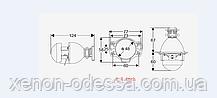 """Биксеноновые линзы G5 mini H1 1.8"""", фото 2"""