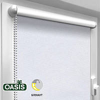 Рулонная штора Blackout, White (ШхВ - 625 x 1700)