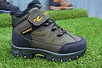 Демисезонные детские ботинки Tom Wins цвет хаки р28 - 35