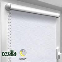Рулонная штора Blackout, White (ШхВ - 825 x 1700)