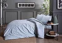 Комплект постельного белья из Сатина двуспальное евро TAC Fabian Mint