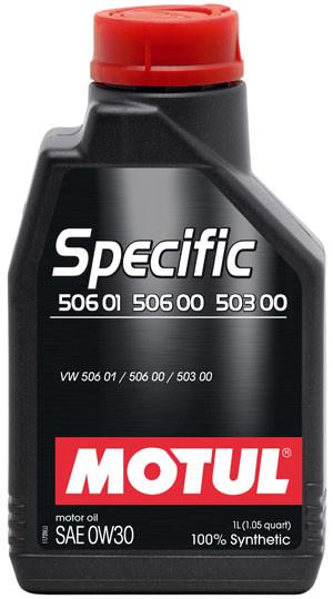 Моторное масло Motul SPECIFIC 506 01 506 00 503 00 0W30 1L
