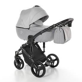 Детская универсальная коляска 2 в 1 Junama Fashion Pro 01 Silver