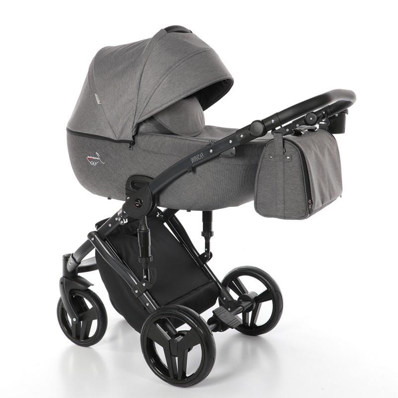 Детская универсальная коляска 2 в 1 Junama Fashion Pro 02 Grafit