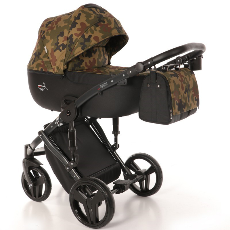 Детская универсальная коляска 2 в 1 Junama Fashion Pro Army