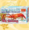 Чипсы рисовые, креветочные, Sa Giang, Shrimp Chips, Vietnam, 200г, МоМау