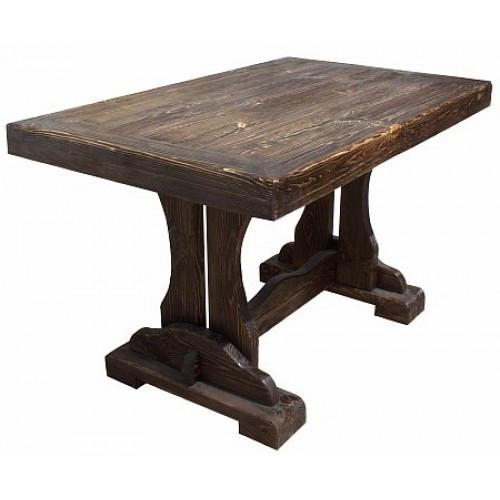 стол барон для заведения под старину из натурального дерева массив производство мебели
