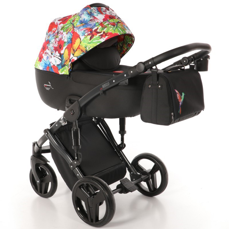Детская универсальная коляска 2 в 1 Junama Fashion Pro Jungle