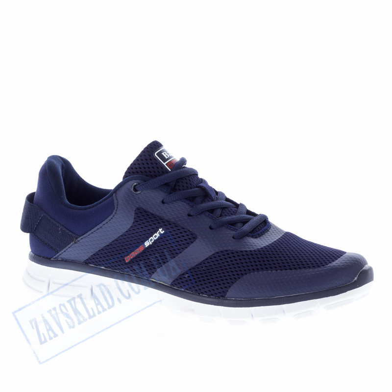 Летние кроссовки Baas синие BS11 фитнес сетка