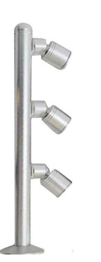 Светильник для подсветки витрин  LED TLS -3*1W 220V  4500К  серебро  200mm