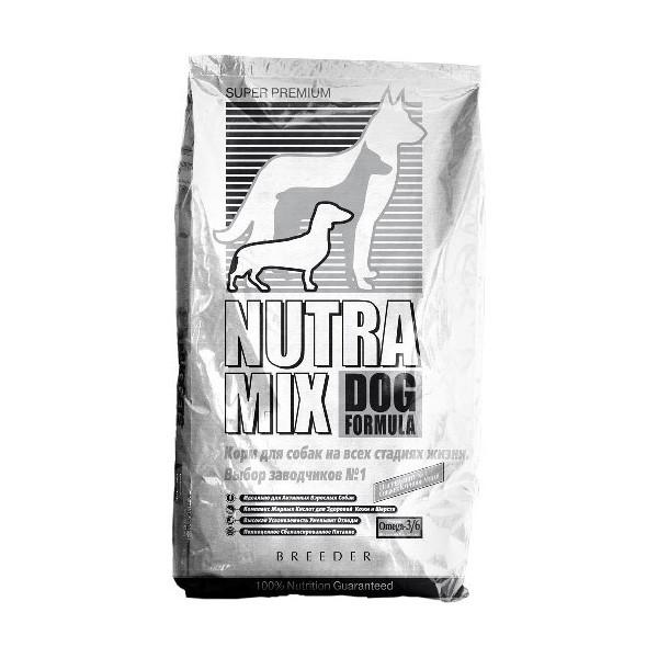 Nutra Mix gold breeder formula rich in chicken & rice сухой корм для собак (курица и рис) - 22, 7кг