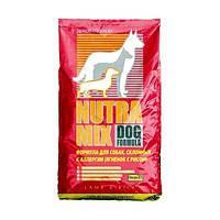 Nutra Mix dog lamb meal & rice сухой корм для собак (ягненок и рис) - 3 кг