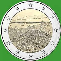 Финляндия 2 евро 2018 г. Пейзаж Коли . UNC