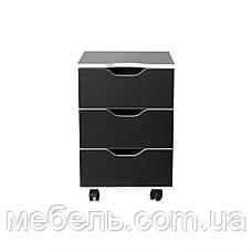 Стол для учебных заведений с тумбой Barsky Game WHITE LED  HG-06/CUP-06/ПК-01, фото 3