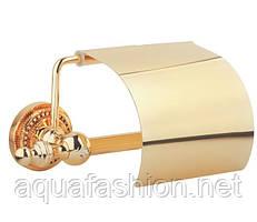 Золотий тримач туалетного паперу Kugu Eldorado 811G