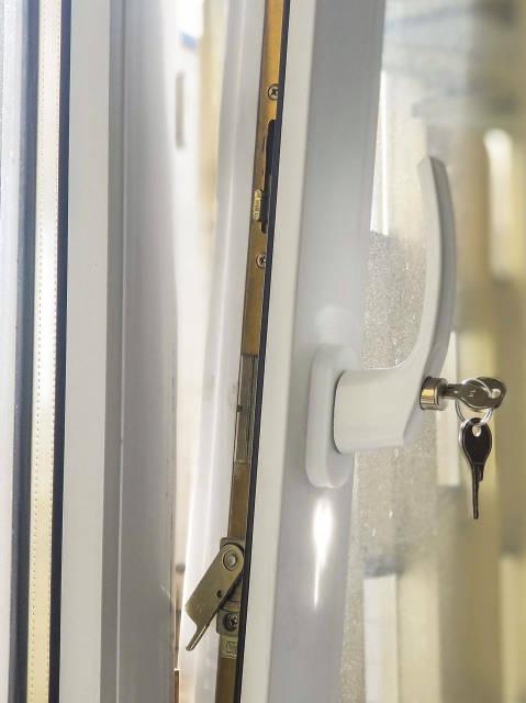 Ручка с замком на проветривание, фото Тепловик интернет магазин